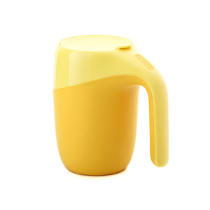 Artiart Suction Mug Elephant Yellow - Zigzagme