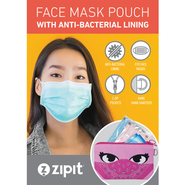 Face-It Masks Pouch Animals