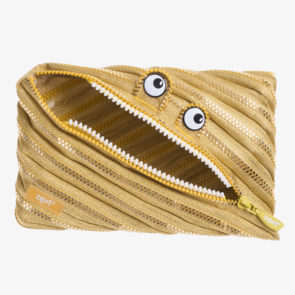 Monster Jumbo Pouch Gold - Zigzagme