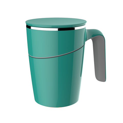 Artiart Suction Mug Grace Green - Zigzagme