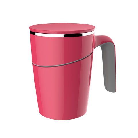 Artiart Suction Mug Grace Pink - Zigzagme