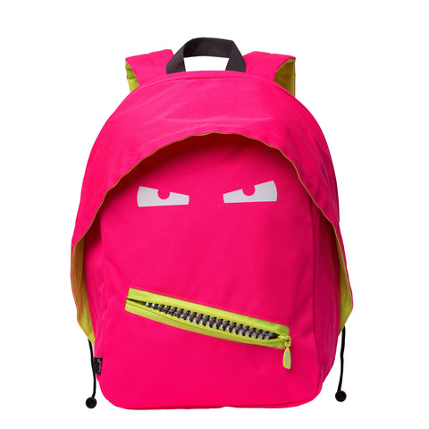 Monster Backpack Grillz Pink