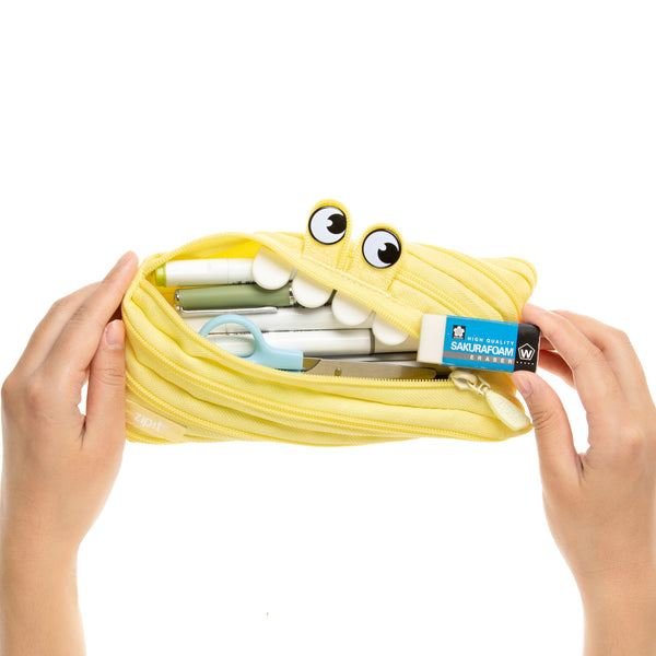Gorge Pencil Case Yellow - Zigzagme