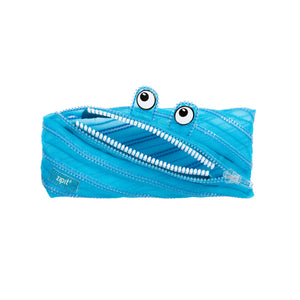 Mesh Monster Pouch Blue - Zigzagme