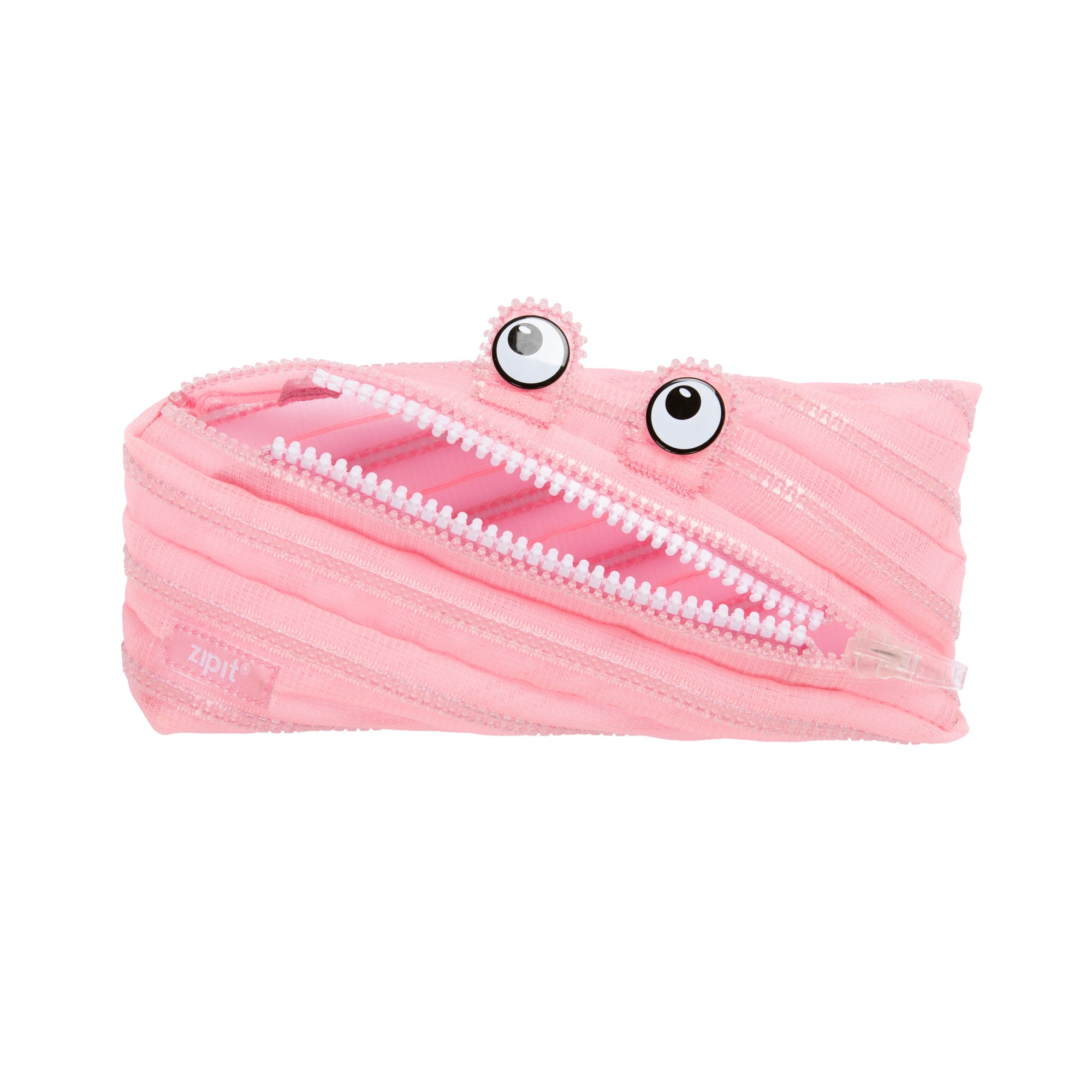 Mesh Monster Pouch Pink - Zigzagme