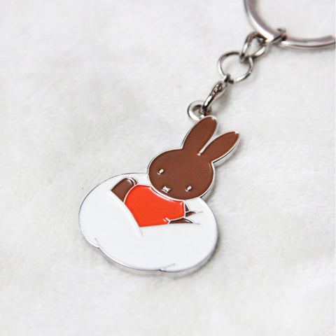 Miffy Badge Keychain - Cloud Melanie - Zigzagme