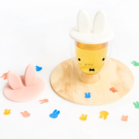 Miffy Cup with Bunny Ears Lid