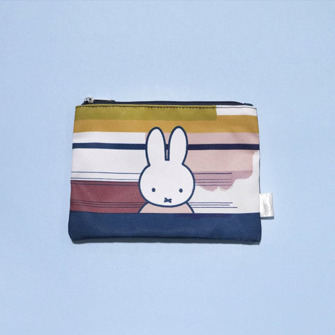 Miffy Abstract Zip Pouch - Zigzagme