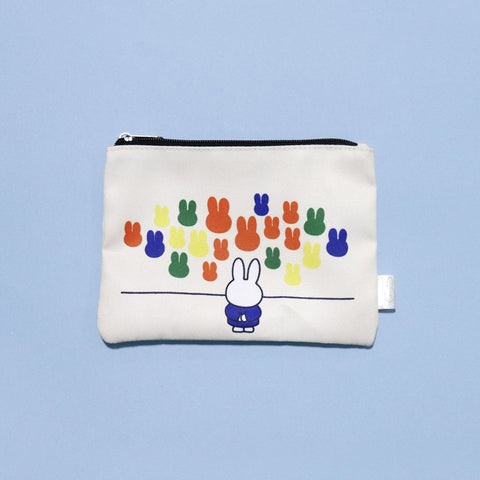 Miffy Gallery Zip Pouch - Zigzagme