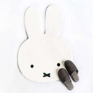 Miffy Head Rug White