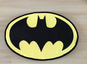 DC Comics Batman logo doormat