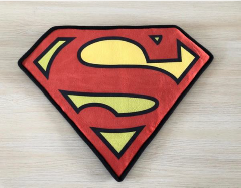DC Comics Superman logo doormat