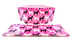 Expandable Collapsible Dog bowls (Set Of 2) - Pinky - Zigzagme