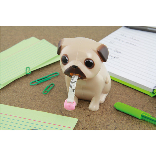 Pug Measuring Tape - Zigzagme