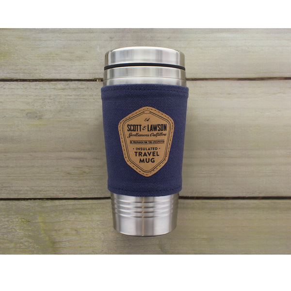 Scott & Lawson Travel Mug - Zigzagme