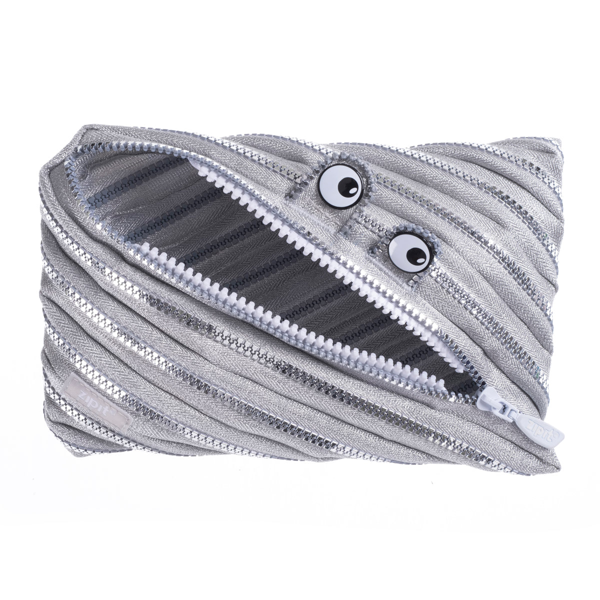Monster Jumbo Pouch Silver