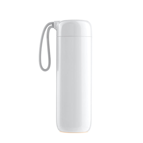 Water Logo By Artiart - Suction Cloud Thermal Bottle White - Zigzagme