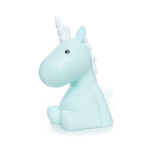 Unicorn Night Light Blue - Zigzagme