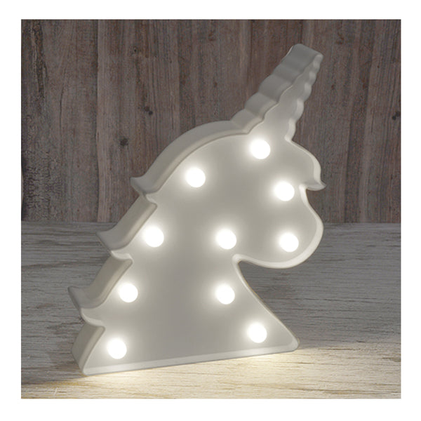 Unicorn Marquee Light - Zigzagme