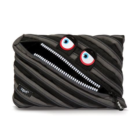 Monster Jumbo Pouch Wilding Black - Zigzagme