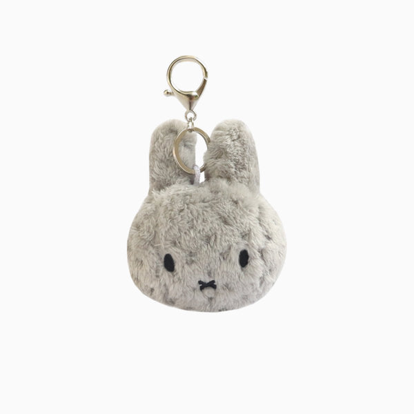 Miffy Keychain - Dotted Grey
