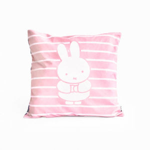 Miffy Cushion Cover - Stripes