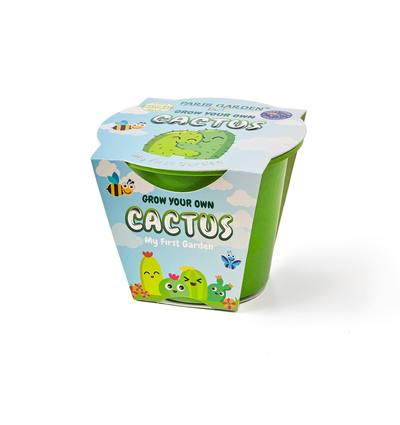 Kids Biodegradable Pot - Cactus