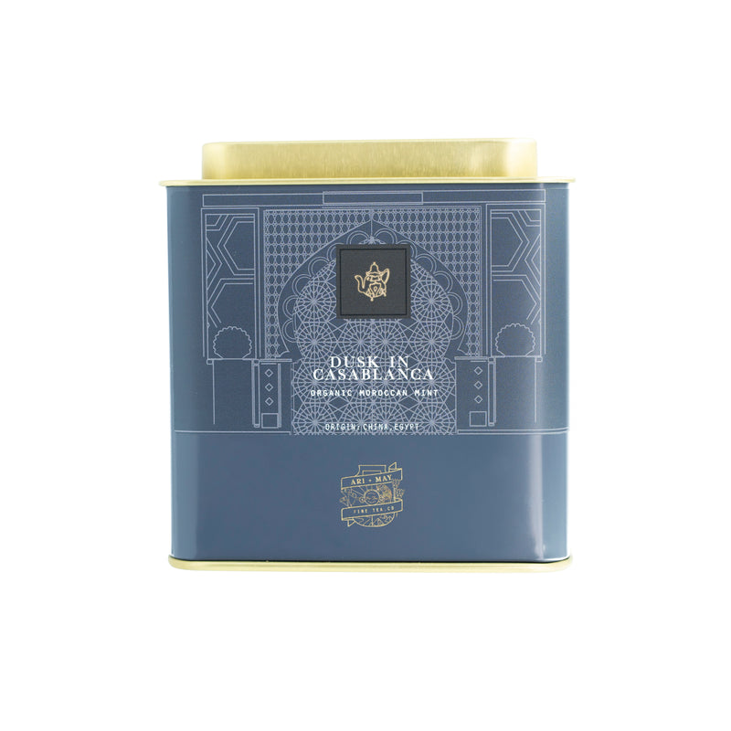 DUSK IN CASABLANCA | ORGANIC MOROCCAN MINT - Ari & May Fine Tea Co.