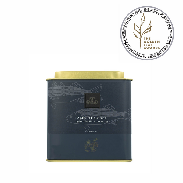 AMALFI COAST  |  Organic Black + Lemon - Ari & May Fine Tea Co.