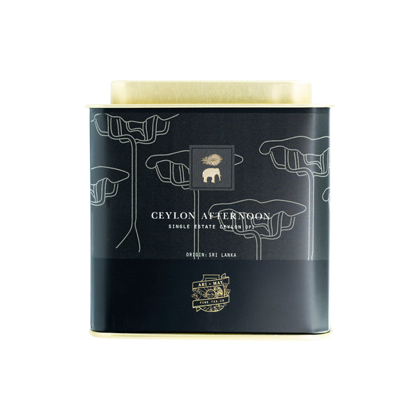 CEYLON AFTERNOON | Single Estate Ceylon BLACK OP1 - Ari & May Fine Tea Co.