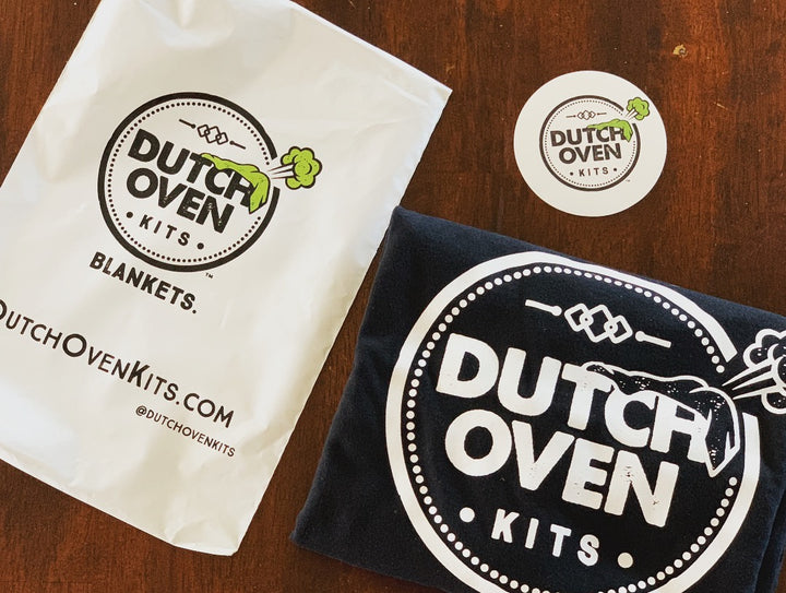 Dutch Oven Kits Blankets Shirts Stickers