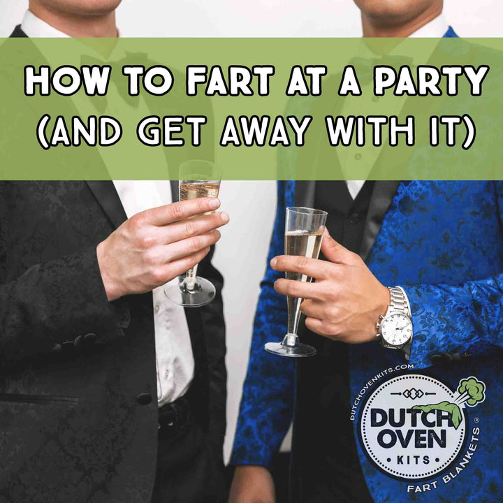 How to Fart at a Party Guys in Tuxedos