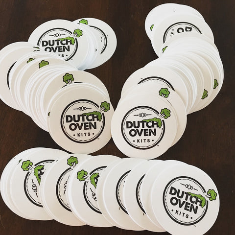 Picture of Dutch Oven Kits Blankets Circle Stickers