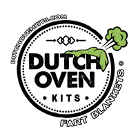 Dutch Oven Fart Blankets Logo
