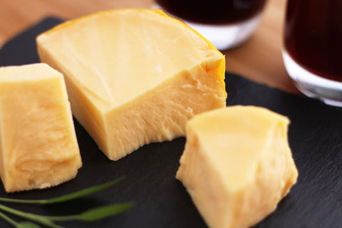 Picture of Foods That Cause Gas - White Cheese on a cheese board