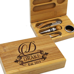 Picture of White Elephant Gift Idea Wine Tool Set