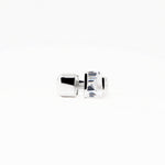 Juxtapose Ring - White Quartz - Silver