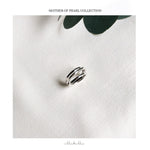 Oyster Ring - Silver