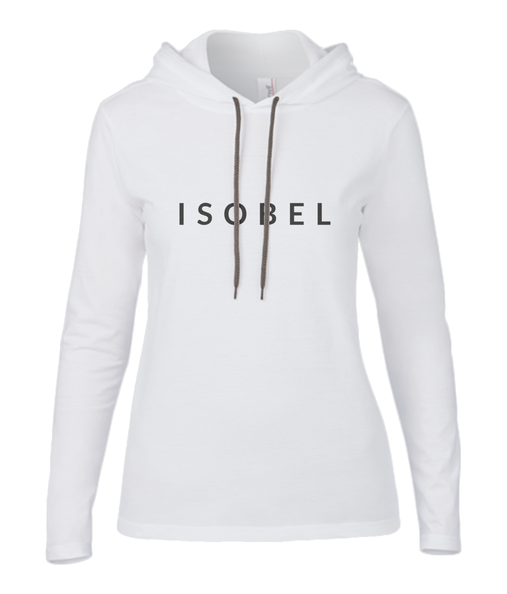 Long Sleeve Hooded ISOBEL T-Shirt