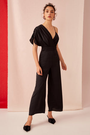 UNCOVERED JUMPSUIT | BLACK
