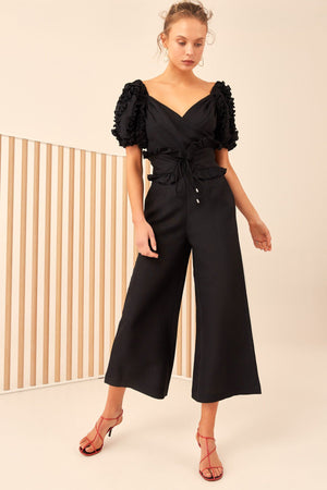 THOUSAND TIMES JUMPSUIT | BLACK