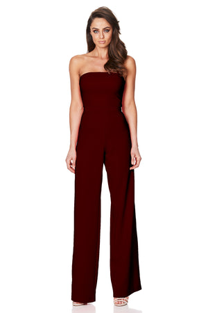GLAMOUR JUMPSUIT | WINE
