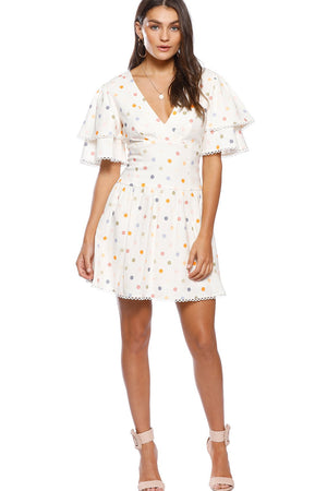 COSMO SPOT DRESS