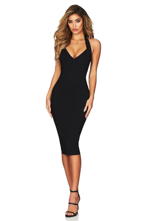 MAGIC HALTER MIDI | BLACK