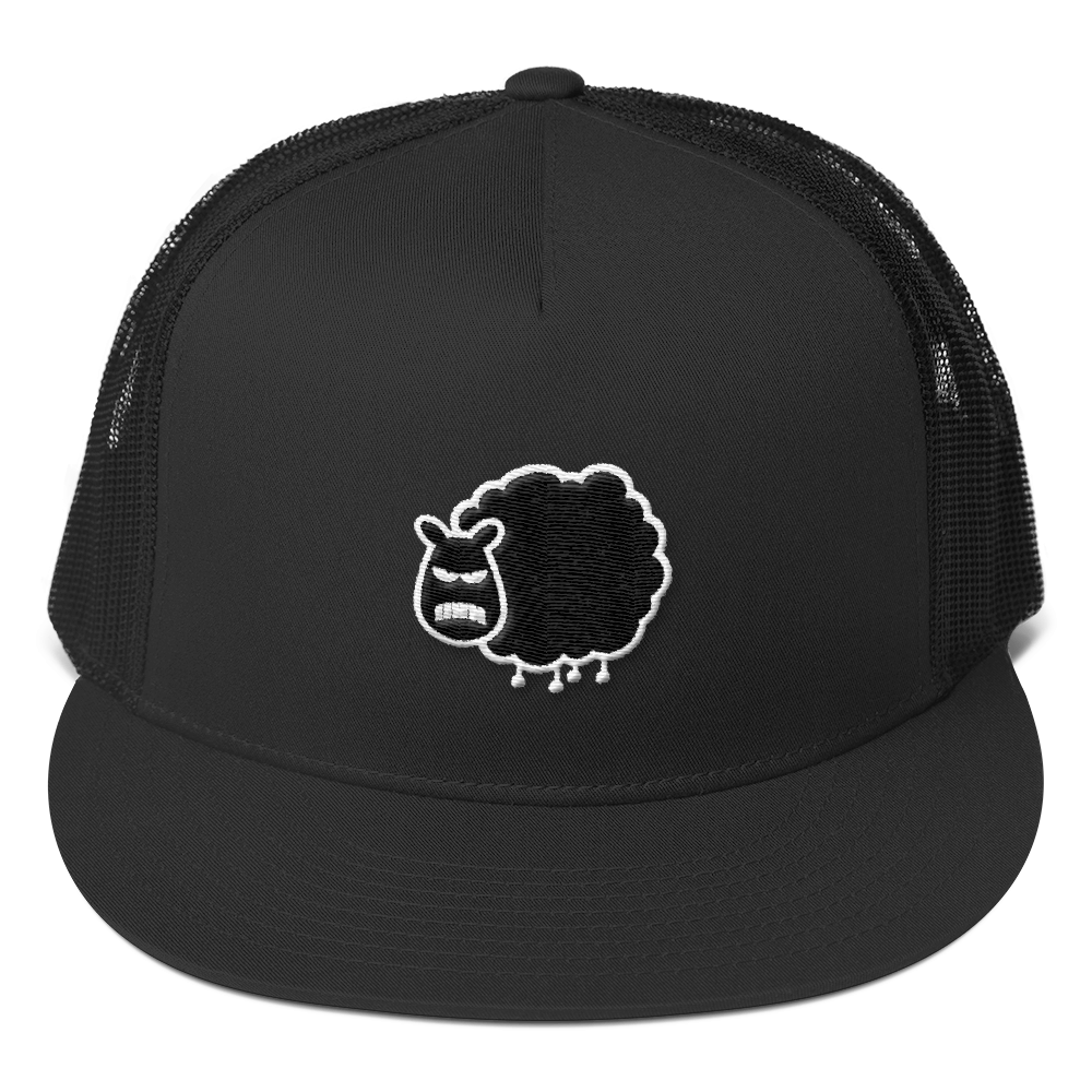 3c59296cc9113 Black Sheep Trucker Cap – Basic London