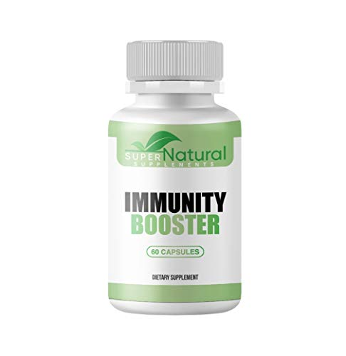 100% Natural*** Immune Support Supplement - Immune Booster w/Vitamin C, Elderberry, Zinc & Probiotics - Best Natural Immune Booster, Supports Healthy Respiratory System & Overall Wellness, 60 Capsules