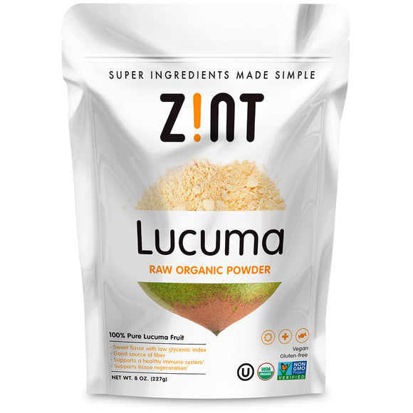 Zint, Lucuma, Raw Organic Powder, 8 oz (227 g)