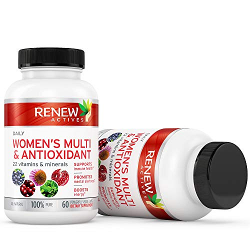 #1 Best MAX Potency Women's Daily Vitamin & Antioxidant! We Deliver 100% of Your Daily Vitamin & Mineral Values to Bridge Your Nutrition Gap - Feel The Difference or Your Money Back!