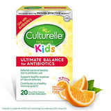Culturelle Kids Ultimate Balance for Antibiotics chewables | Use with Antibiotics | Contains 100% LGG –The Most Clinically Studied Probiotic†† | Once Per Day Dietary Supplement | 20 Count