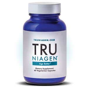 TRU NIAGEN Nicotinamide Riboside  300 mg 60 vegetarian caps Patented NAD Booster for Cellular Repair & Energy, 150mg Vegetarian Capsules, 300mg Per Serving, 30 Day Bottle